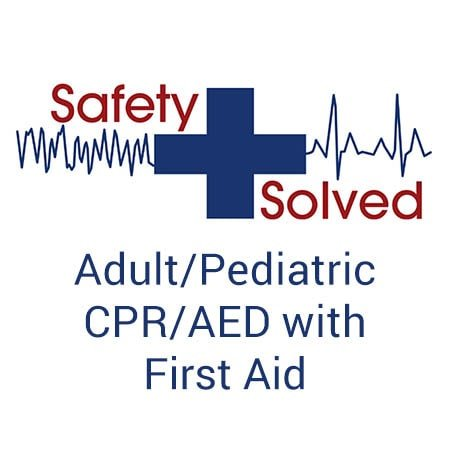 Adult/Pediatric CPR/AED with First Aid Provisional Online Course