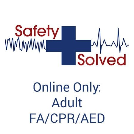 Adult First Aid/CPR/AED